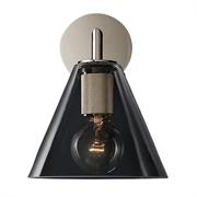 Бра rh utilitaire funnel shade single sconce